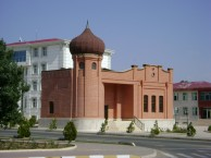 Building of Zaviya Medrese (Moslem theological school) in Nakhchivan (XVII-XVIII centuries)