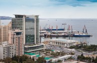 Panoramic View of Baku