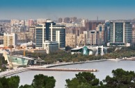 Panoramic View of Baku from the sea