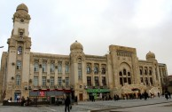 Old Building of Baku Railway Station