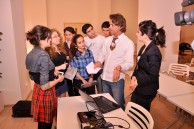 Spanish artist Patricia Forrester's meeting with the students of Baku Branch of Lomonosov Moscow State University