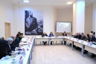 "Round table discussion on the topic: ""Nizami Ganjavi Scientific Centre of Azerbaijan and Caucasus Studies at Oxford University"""