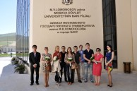 The students of Lomonosov MSU are guests of Baku Branch of Lomonosov MSU