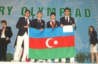 Team of secondary school students from Azerbaijan at the 46<sup>th</sup> International Chemistry Olympiad in Vietnam